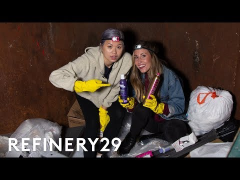 What Dumpster Diving For Makeup Is Really Like   Beauty With Mi   Refinery29