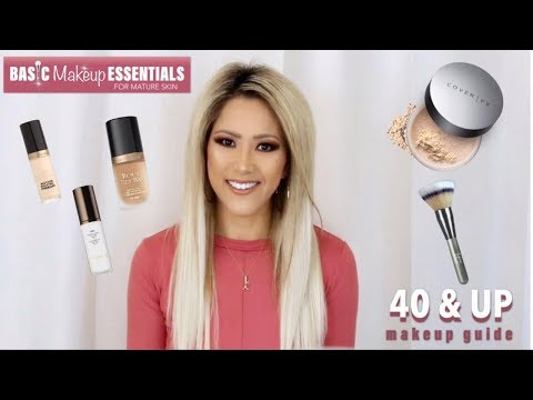 MAKEUP ESSENTIALS FOR WOMEN OVER 40 | TOP MAKEUP PRODUCTS FOR MATURE SKIN