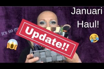 MONTHLY MAKEUP HAUL UPDATE of JANUARY  || Over 40 | Mature skin