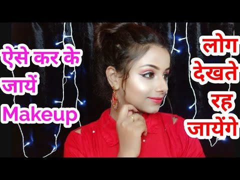 Romantic Makeup Look || Full Tutorial || Neha Beauty Hub