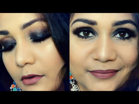Easy Black Smokey Eyes for Beginners | Nidhi Katiyar