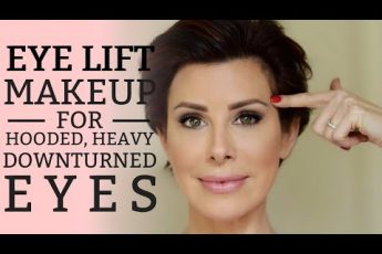 """""""Eye Lift"""" Makeup for Hooded, Heavy or Downturned Eyes 
