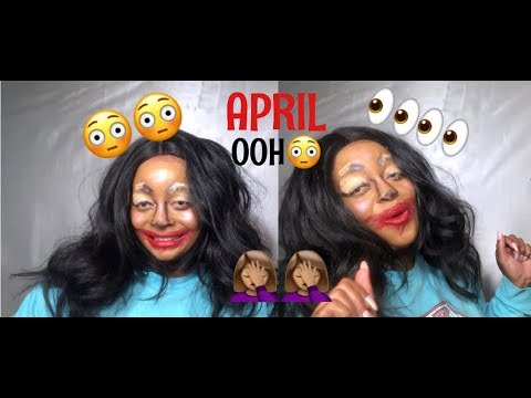 APRIL OOH!!!| BEAUTY COLLAB FAMILY| Beauty Butterfly Makeup Play Time