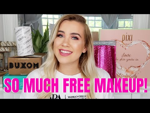 HUGE PR HAUL – FREE MAKEUP BEAUTY GURUS GET | Paige Koren