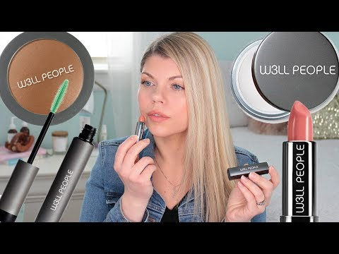 CLEAN BEAUTY MAKEUP TUTORIAL FT. W3LL PEOPLE