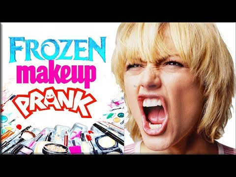 FROZEN Makeup Beauty PRANK | How to Pranks