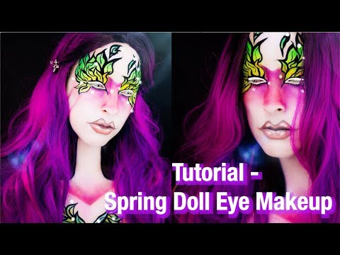 Tutorial – Spring Doll Eye Makeup
