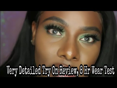 AFFORDABLE REALISTIC COLORED CONTACTS WITH PRESCRIPTION FOR DARK EYES | IRIS BEAUTY CONTACTS  REVIEW