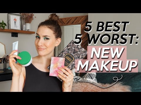 5 BEST & 5 WORST: NEW MAKEUP/BEAUTY RELEASES! | Jamie Paige