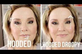 """""""EYE LIFT"""" Makeup for HOODED, DROOPY or Downturned Eyes / TWO Techniques"""