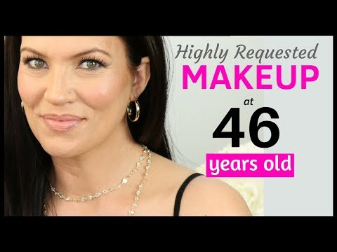 MAKEUP TUTORIAL for CREPEY, SAGGY & HOODED EYES – MATURE SKIN Beauty Tips