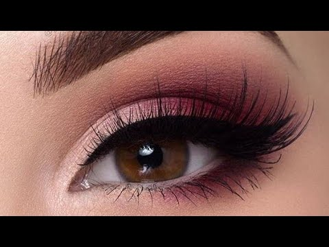 Eye makeup and eye shadow