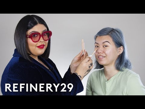 Rihanna's Makeup Artist Does My Makeup | Beauty With Mi | Refinery29