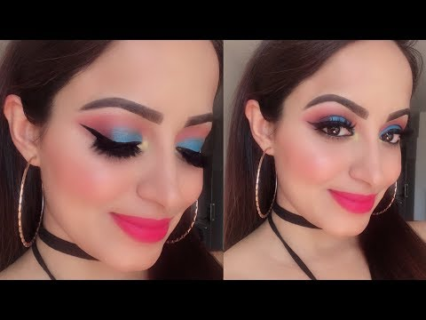 (मेकअप कैसे करें घर पर)Step By Step Base Makeup and Eye Makeup For Beginners | Deepti Ghai Sharma