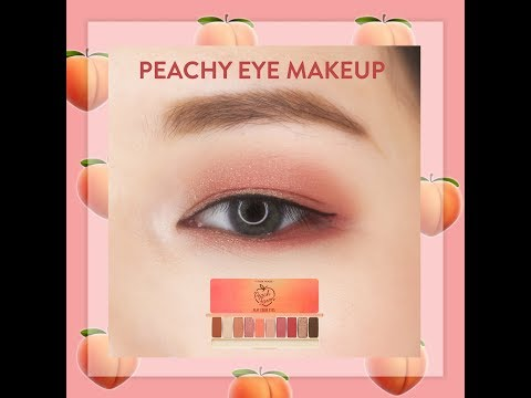 MAKEUP MẮT TONE ĐÀO – PEACHY EYES MAKEUP