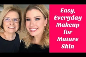 Everyday Makeup For Truly Mature Skin 70+   Makeup On My Mom ❤️️