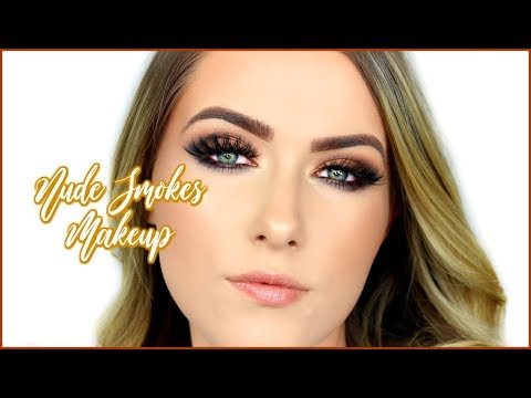 BEAUTY BAY EYN NUDES PALETTE – SMOKEY EYES MAKEUP | shivonmakeupbiz