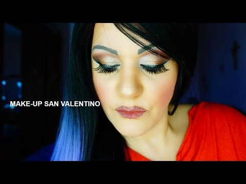 make-up transformation san valentino.. beauty makeup cosmetics too faced grwm  smashbox