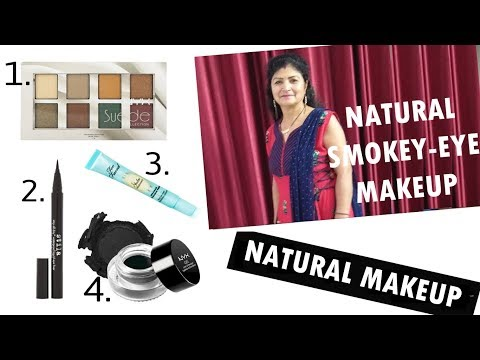 How To Do NATURAL Makeup | Black Smokey Eyes Makeup Tutorial