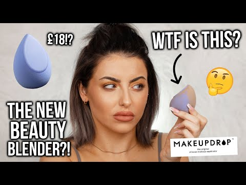 HYBRID 2 IN 1 MAKEUP SPONGE!? IS THIS THE NEW BEAUTY BLENDER? FIRST IMPRESSIONS + HONEST REVIEW