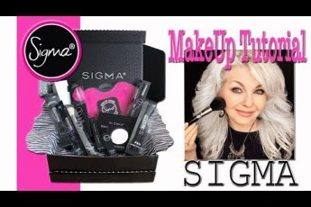 MAKEUP TUTORIAL | SIGMA BEAUTY MAKEUP & BRUSHES REVIEW | Mature Skin