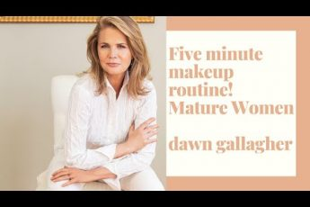 GRWM Five Minute Makeup! For Mature Women with Limited Time!