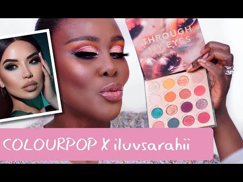 ILUVSARAHII X COLOURPOP THROUGH MY EYES MAKEUP TUTORIAL | Fumi Desalu-Vold