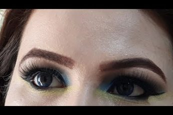 Dramatic Smokey Eyes Makeup Tutorial Blue Smokey Eyes