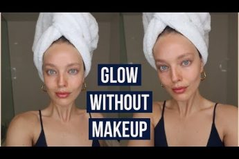 How To Look Beautiful Without Makeup | Model Beauty Secrets | Emily DiDonato
