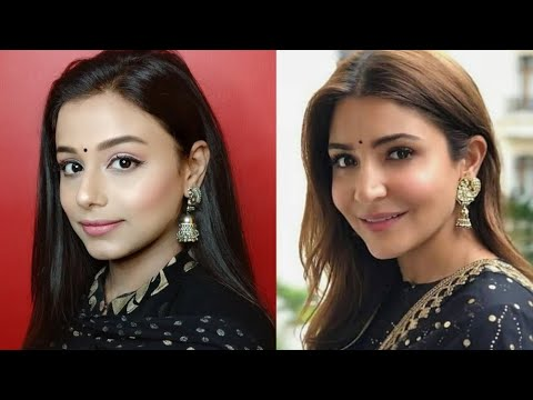 Anushka Sharma inspired makeup / Natural look / simple look || Neha Beauty Hub