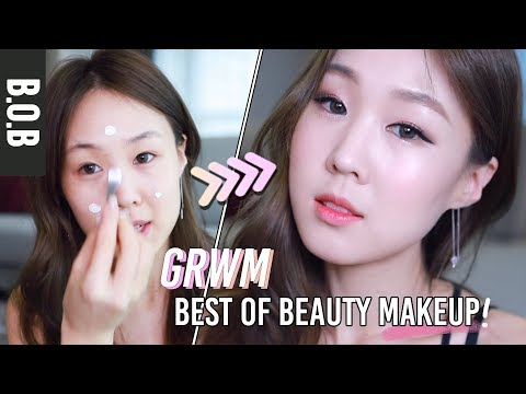 GET READY WITH ME w/ BEST OF BEAUTY: MAKEUP 2018 ??✨ 2018년 베스트 메이컵으로 겟레디윗미! meejmuse