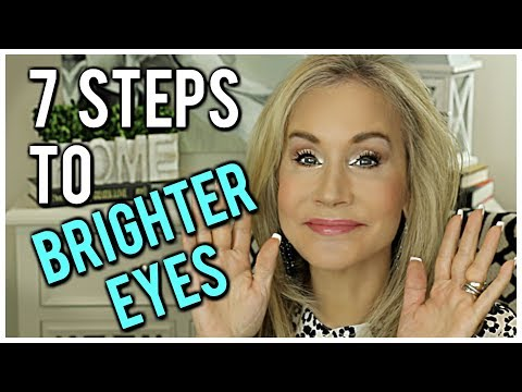 ? HOW TO BRIGHTEN EYES  ?