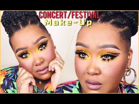 Concert/Festival Make-up | ft. Beauty Over 40 | MakeupByNamaisa