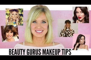5 BEAUTY GURUS Makeup TIPS! Makeup Over 50