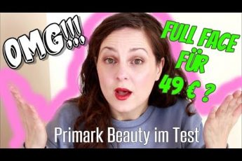 KOMPLETTES MAKEUP für 49 EURO? Was kann PRIMARK Beauty? FULL FACE FIRST IMPRESSION TRY´N TALK