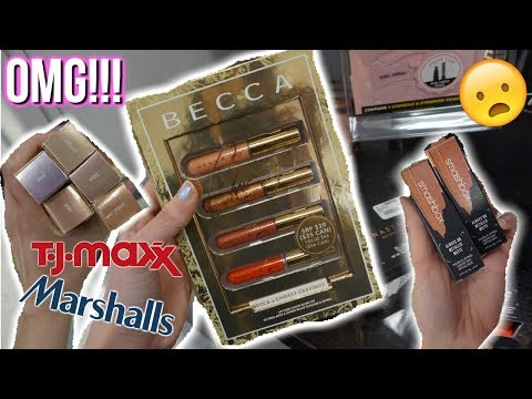 MORE BECCA X CHRISSY!? MARSHALLS JACKPOT | BUDGET BEAUTY BUYS HIGH END MAKEUP FOR CHEAP
