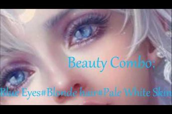 Beauty combo,Blue Eyes,Blonde Hair,Pale white skin -silent,subliminal,combo