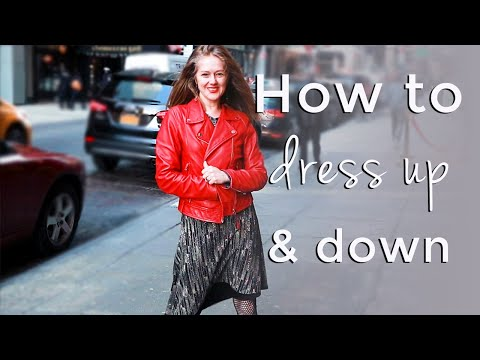 How to look modern for women over 40 – How to dress up and down
