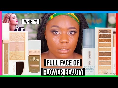 TESTING FULL FACE OF FLOWER BEAUTY MAKEUP | HITS & MISSES | MsTopacJay