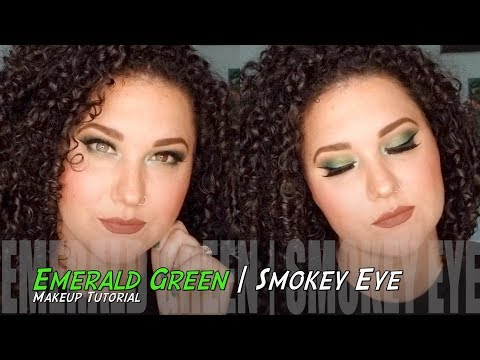 Emerald Eyes | Green Smokey Eye | Makeup Tutorial