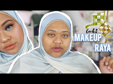 MAKEUP RAYA 2019 – BABY BLUE GREEN