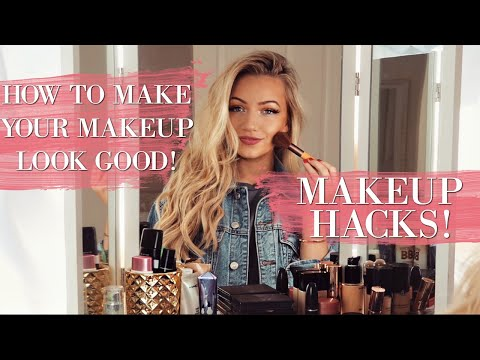 HACKS TO MAKE YOUR MAKEUP LOOK GOOD! / BEAUTY HACKS!