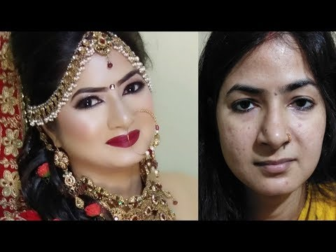 Hooded Eyes Bridal Makeup # How to do Bridal makeup on Hooded Eyes#Latest Hooded Eyes Bridal Makeup#