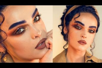 MIDNIGHT SUNSET – WARM SMOKEY EYES FEAT. HUDA TOPAZ OBSESSIONS PALETTE