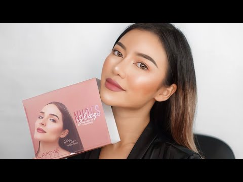 LAKME One Brand Makeup Tutorial #nudeslay