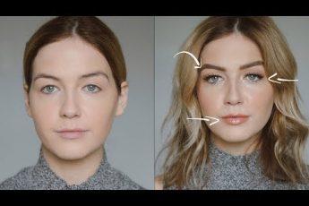 How to Create Naturally Larger Features (Eyes, Lips, Brows etc.)