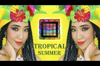 One Brand Makeup – Tropical Summer With NYX Cosmetics [Vanmiu Beauty]