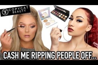 TESTING BHAD BHABIE'S MAKEUP | COPYCAT BEAUTY FIRST IMPRESSIONS