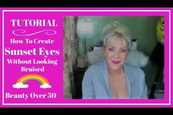 TUTORIAL ~ How To use pink/purple shadows without looking  bruised! ~ Mature Eyes!