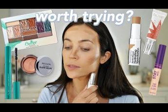 GRWM + New DRUGSTORE makeup: Cream Products + First Impressions ?